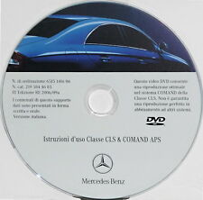 Mercedes CLS C219 anno 2006,istruzioni vettura e comand APS