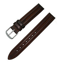 Hadley Roma LS884 14mm Tan Suede Triple Stitched Ladies Watch Strap