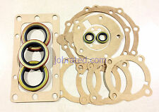 New Process 201 Transfer Case  /  NP201 Gasket  with  H D Double lip seals set