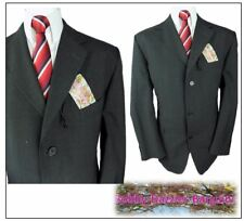 "Ciro Citterio formal 2 piece mens suit Ch44""S  W38"" L29"" Charcoal Wool Blend"