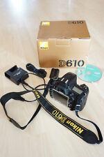 Nikon D610 24.3 MP SLR-Digitalkamera - Schwarz (Nur Gehäuse)