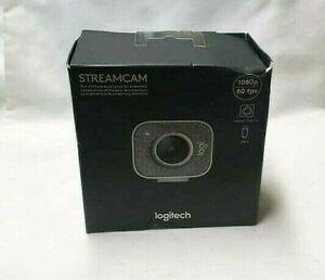 NB Logitech - StreamCam Plus Webcam - WHITE 960-001289 (NEW-SEALED)
