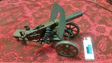 old table lighter machine gun beautiful. works but empty no gas