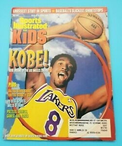 KOBE BRYANT LAKERS - MAY 1999 - SPORTS ILLUSTRATED for KIDS - CARDS INSIDE
