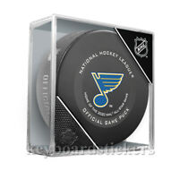 2019-20 St. Louis Blues Home of 2020 All Star Game Official Hockey Puck w/Cube