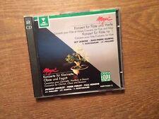 Mozart - Konzert Flöte Harfe [2 CD Album] Erato Paillard Guschlbauer Laskine