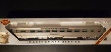 HO Broadway Ltd BLI 532 WP California Zephyr Sleeper Passenger Car Silver Palm