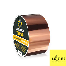 Copper Foil Tape With Conductive Adhesive For Emi Shieldingamp Guitar2 X 33us