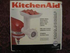 KitchenAid Meat Food Grinder Stand Mixer Attachment - White