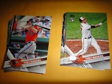 """ORIOLES COMPLETE TEAM SET, 2017 TOPPS """"ALL STAR GAME 2017"""", SERIES 1, 2 & UPDATE"""