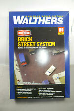 Walthers Pierre Angulaire Brique Rue Système 933-3139 Collectible H0 (MF19)