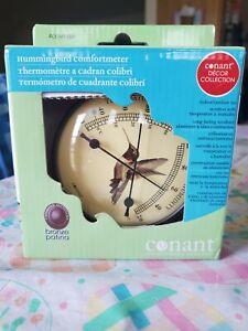 NEW Conant Decor Collection Comfortmeter Hummingbird Bronze
