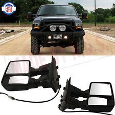 View Mirrors For 03-07 Ford F250/F350/F450/F550 Super Duty Turn w/ Signal Light