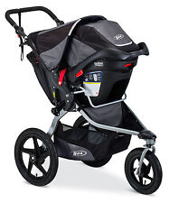 BOB 2016 Revolution Flex Stroller Travel System Black + B-Safe 35 Car Seat!