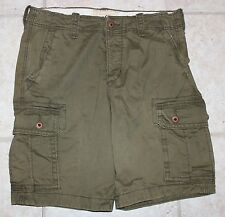 Hollister Mens Size 31 Button Fly Cargo Shorts