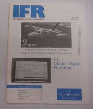 IFR Pilot Magazine Online Flight Planning July 1989 FAL 061815R