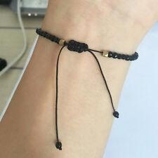 Small Stone Beads Bracelet Constellation Lucky Unisex Beaded Adjustable Gift G
