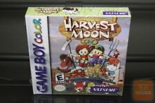 Harvest Moon 1 GBC (Game Boy Color, 1999) H-SEAM SEALED! - EXCELLENT! - RARE!