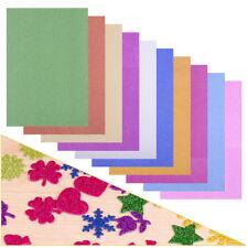 10pcs A4 Glitter Paper Shiny Scrapbooking Craft Christmas Card Lucky Bird Making