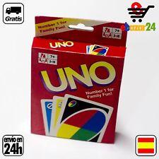BARAJA JUEGO UNO DE MESA 108 CARTAS CARTA BARAJAS *Envío GRATIS desde España*