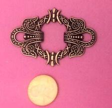 Art Nouveau Antique Copper Plated Brass - 1 Pc