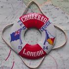 old Vintage Falklands War Troopship SS Canberra P&O 1984 Trench Art Lifebelt