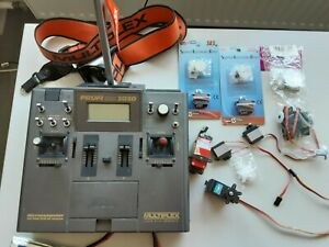 Multiplex Profi 3030 Fernsteuerung viel Zubehör