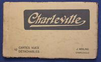 12 Ansichtskarten Postkarten Charleville um 1920 Frankreich Fotografie sf
