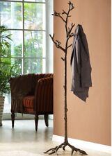 "SPI Home Bird On Branch Lovebird Coat Rack Hat Tree Stand Bronze Finish 69"" H"