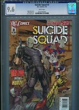 Suicide Squad #3   (New 52)  CGC 9.6  White Pages