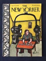 APRIL 13, 1946 NEW YORKER - Cover Only - Abe Birnbaum