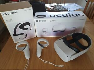 Oculus quest 2 256gb With pro head band. One month old With receipt