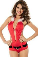 Womens Sexy Christmas All in One Santa Outfit Size UK 8-10