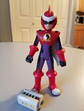 2004 Blue Cross Fusion Protoman 6 inch Jazwares Capcom Action Figure Mega Man