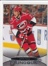 11/12 UD SERIES 1 JUSTIN FAULK YOUNG GUNS RC SP ROOKIE #205