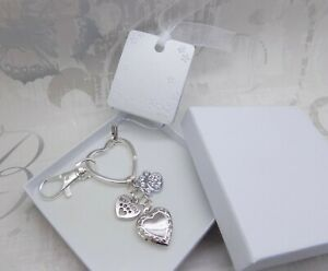 *GIFT BOXED* Pet Loss Sympathy Gift Memory Keyring Bag Charm Keepsake Cat Dog