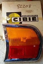 PEUGEOT 504 PLASTICA FARO FANALE RUCKLEUCHTE TAIL LIGHT FEU ARRIERE NOS CIBIE'