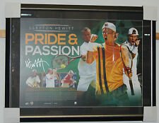 Lleyton Hewitt Hand Signed & Framed Limited Edition Pride & Passion Lithograph