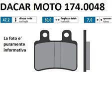 174.0048 PLAQUETTE DE FREIN ORIGINAL POLINI MALAGUTI : XSM 50 Minarelli AM6