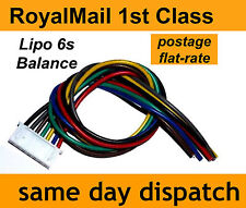 Lipo Balance Lead for repairing battery pack 6s JST-XH male 6-cell, 22.2V, 22AWG