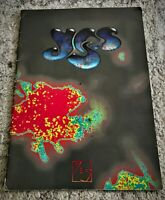1991 YES Band UNION Concert TOUR Official PROGRAM Book JON ANDERSON