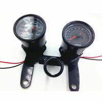 Moto LED rétro-éclairage compteur de vitesse tachymètre odomètre tacho jauge ATV
