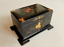 Victorian Papier Mache Tea Caddy