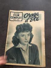 LE FILM COMPLET N°199 30/03/50 ORAGE D'ETE Odette Joyeux   B1