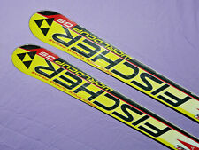 Fischer RC4 World Cup GS Air Carbon Ti Race SKIS 170cm w Fischer FR11 Bindings ❅