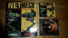 NetMech Eight Player Pack for MechWarrior 2 (PC, 1996) Rare great condition