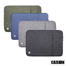 "CAISON 13.3 14 15.6 17.3"" inch Laptop Sleeve Case Computer 10.1 inch Tablet Case"