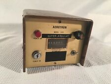 Vintage 1970 Aerotron Telecontrolator Model 1529 Remote Fueling Monitor CB Radio