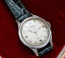 Ladies Vintage '50s Stainless Mido Multifort Super-Automatic watch w/box – RUNS!