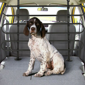Universal Heavy Duty Car Van Pet Dog Cat Guard Safety Barrier Adjustable